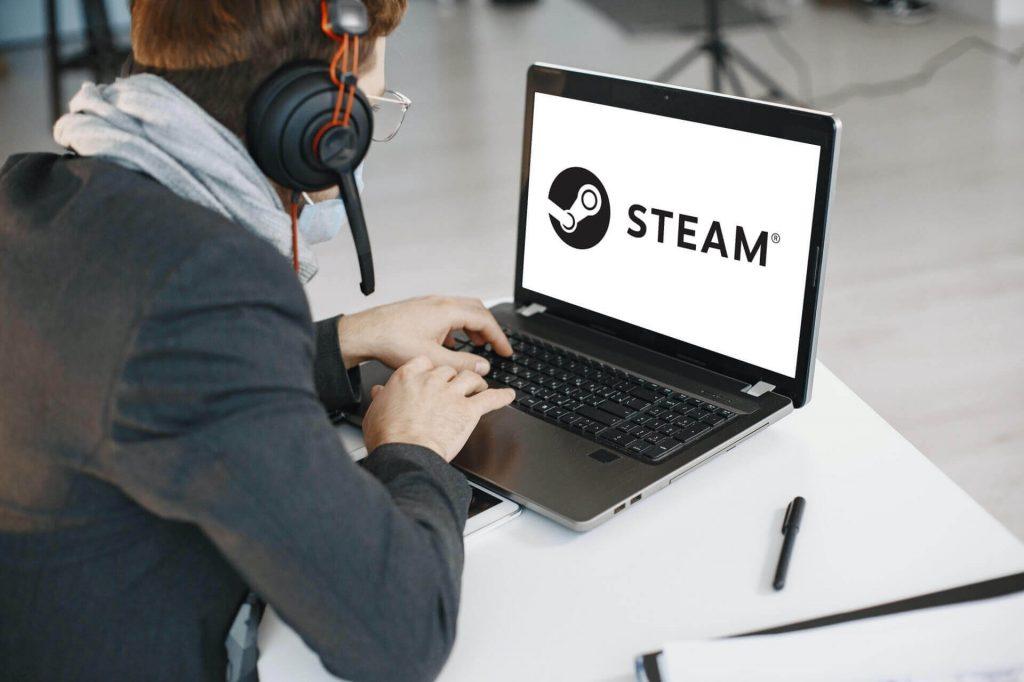 Fake Steam login page alert