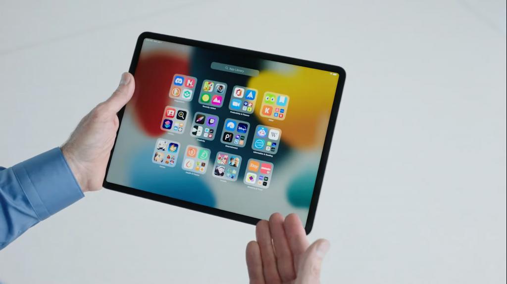 iPad_App Library