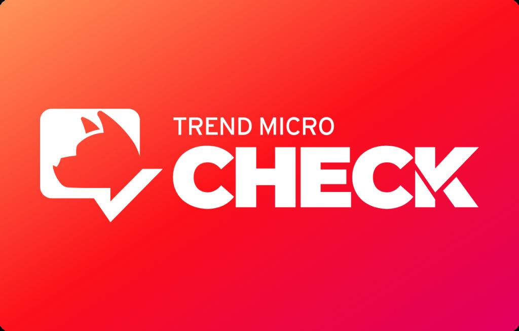 Trend Micro Check