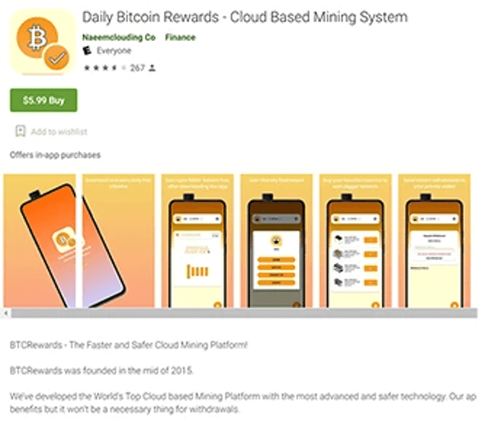 How Fake Cryptocurrency Mining Apps Are Deceiving People & Stealing Their Money