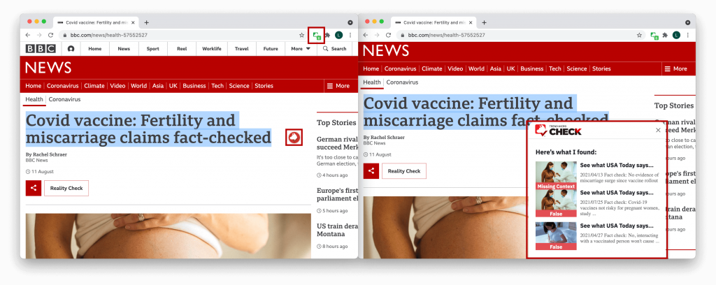 Do Covid Vaccines Cause Miscarriages? Fact-checking Three Rumors of the Week