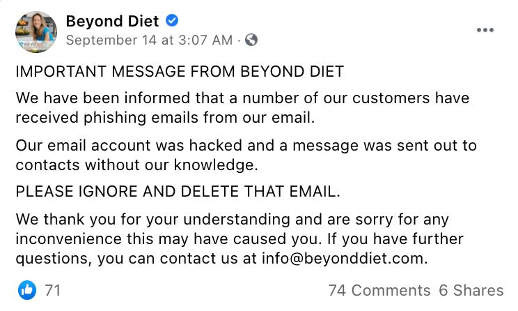 Scam Alert_Beyond Diet_Announce_0922