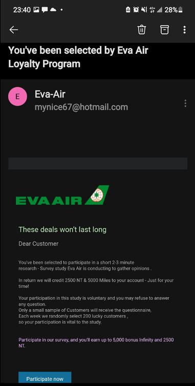 Scam Alert_Eva Air Email_0924